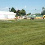 Création sols sportifs Gazonnés placage