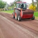 Création sols sportifs Stabilisés épandage sable