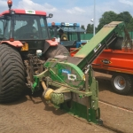 Drainage avec extraction terre