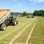 Rénovation sols sportifs Gazonnés Drainage